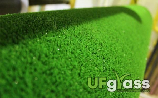 Ландшафтная искусственная трава 7 мм Калинка Лайм