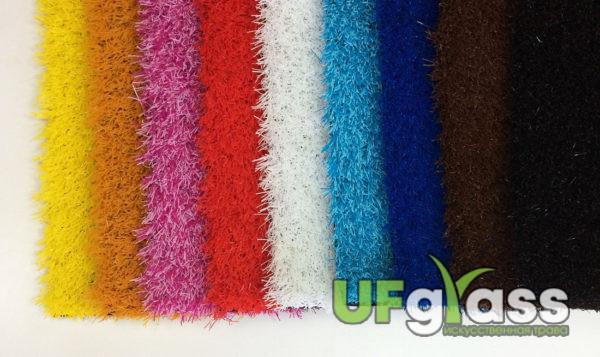 Ландшафтная искусственная трава 20 мм Domo Premium Color