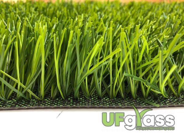 Искусственная трава для мини-футбола 40 мм UF Grass Spine Х (12000 Dtex, Стежков: 10080 кв.м)